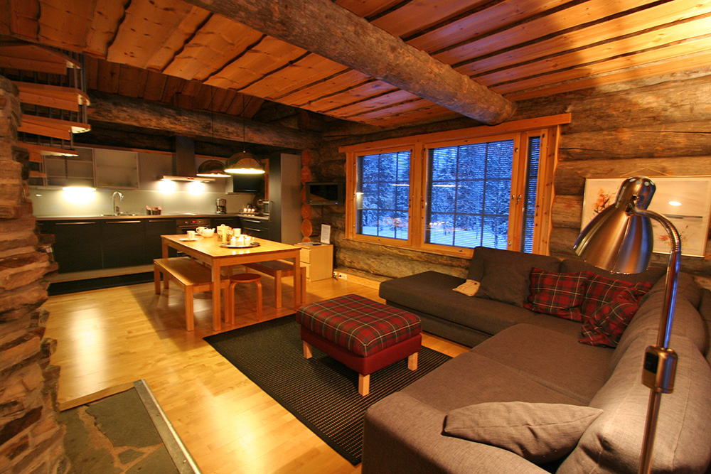Gregory-cabin-living-and-kitchen-downstairs