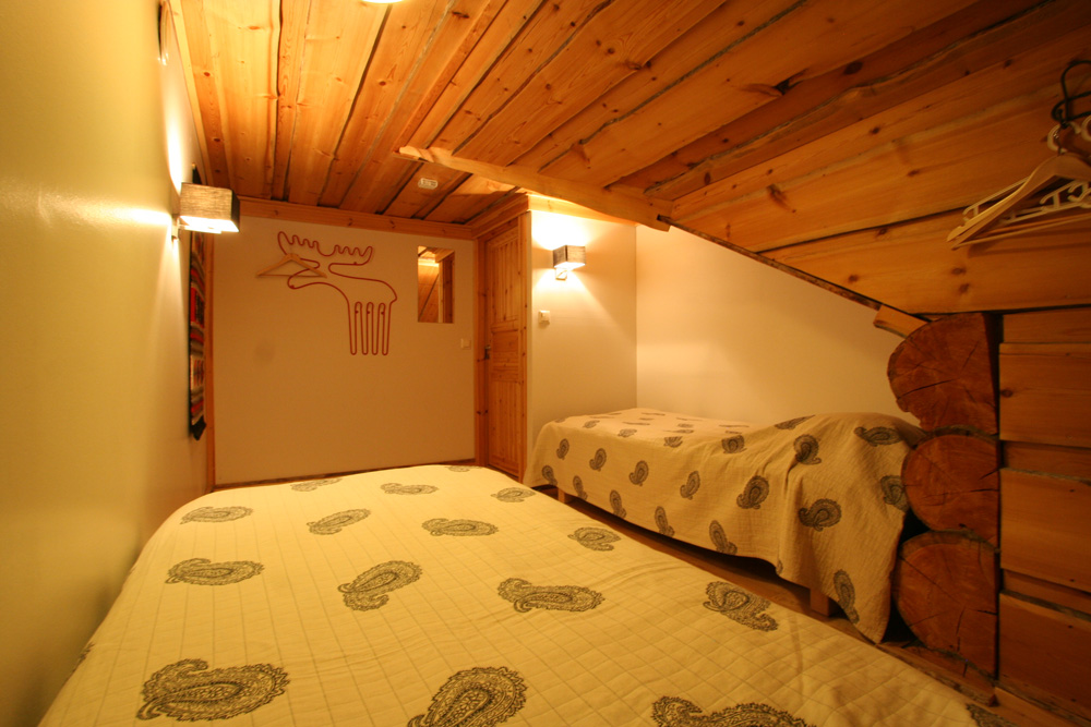 Gregory cabin upstairs bedroom two